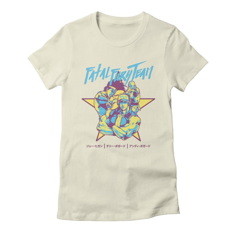 King Of Fighters '94 Italy Team Women's Fitted T-Shirt by tulleceria