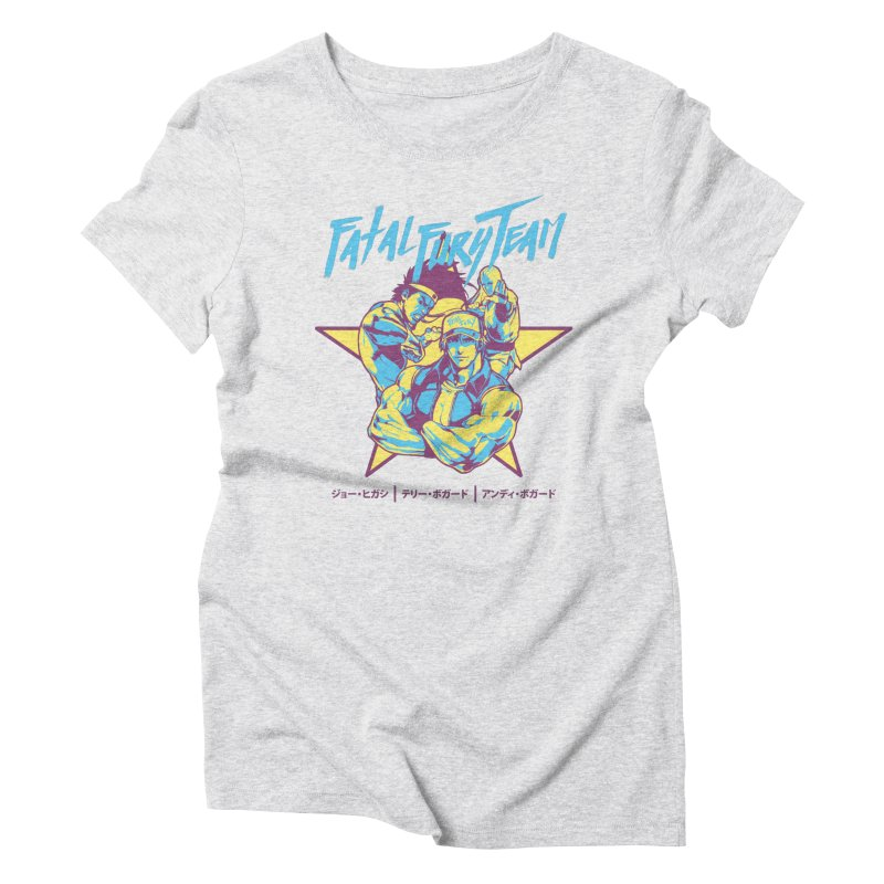 King Of Fighters '94 Italy Team Women's Triblend T-Shirt by tulleceria