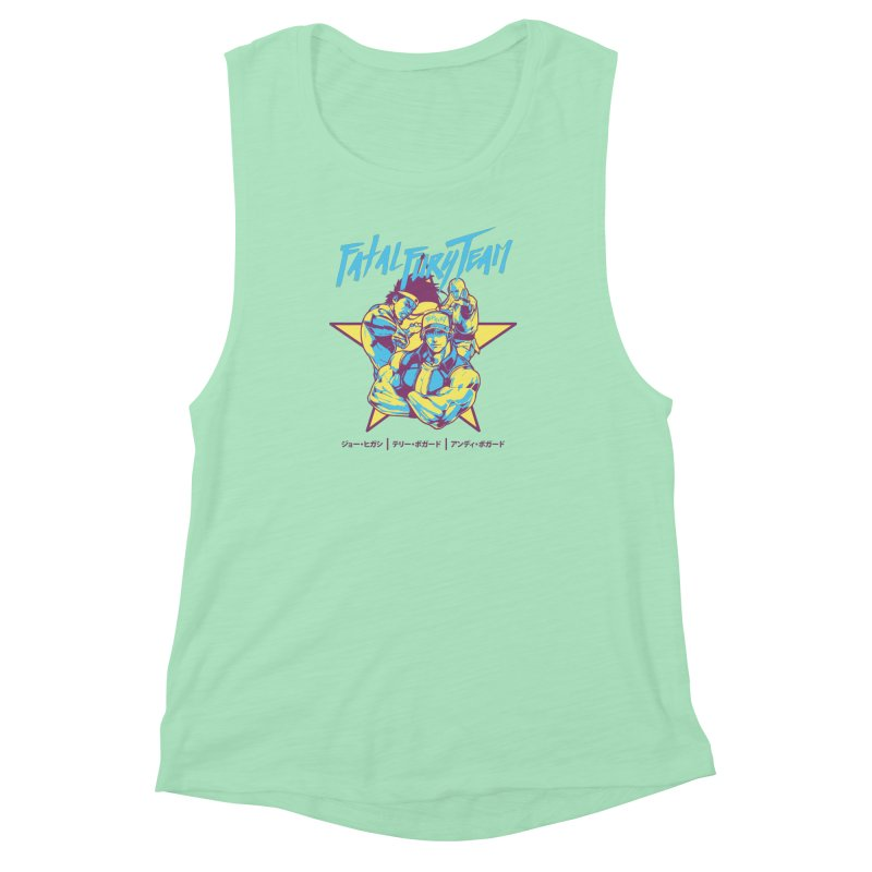 King Of Fighters '94 Italy Team Women's Muscle Tank by tulleceria
