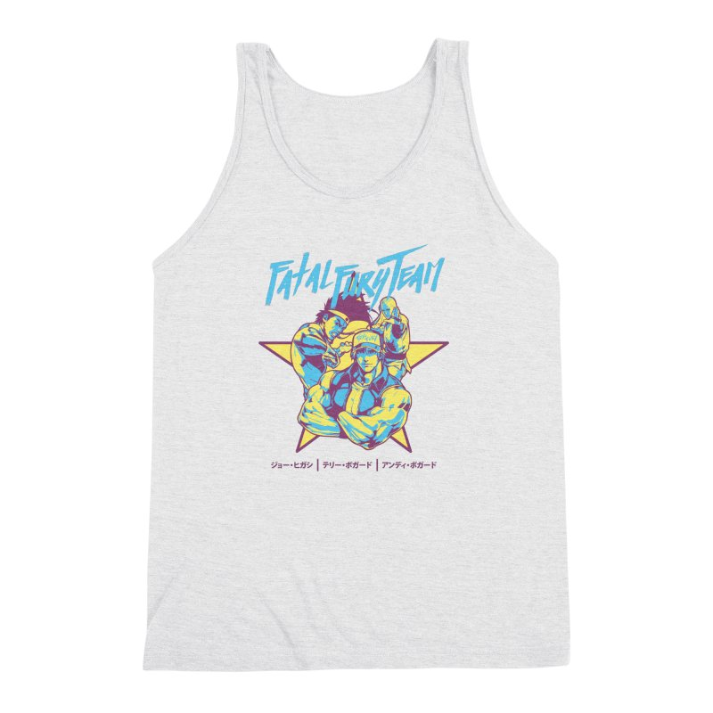 King Of Fighters '94 Italy Team Men's Triblend Tank by tulleceria