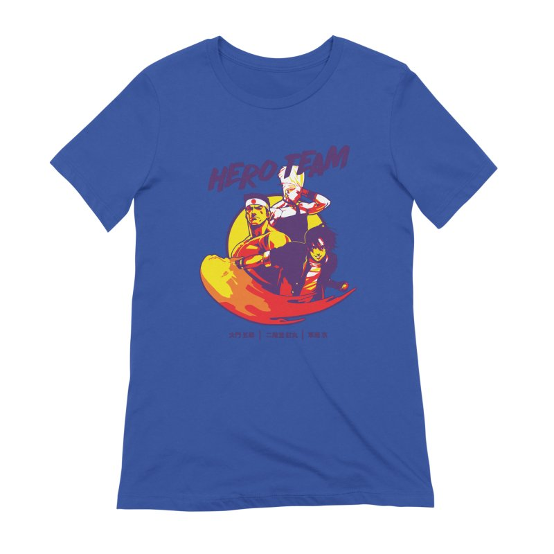 King Of Fighters '94 Japan Team Women's Extra Soft T-Shirt by tulleceria