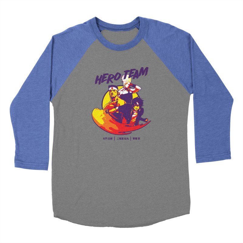 King Of Fighters '94 Japan Team Women's Longsleeve T-Shirt by tulleceria