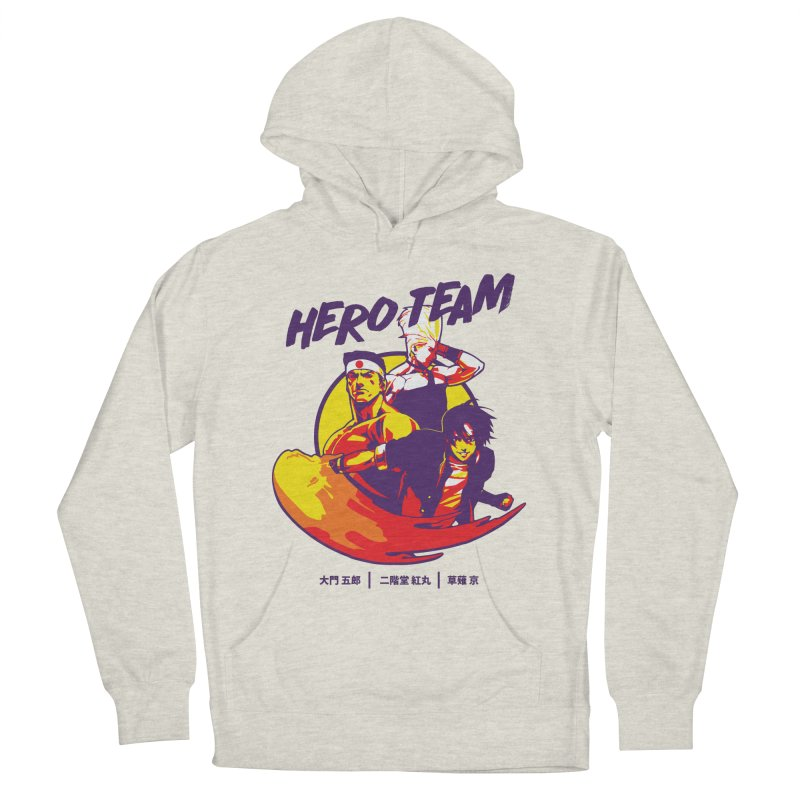King Of Fighters '94 Japan Team Women's French Terry Pullover Hoody by tulleceria