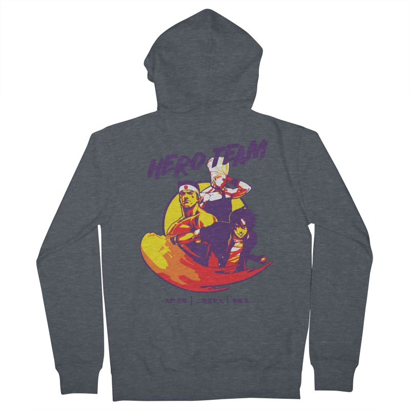 King Of Fighters '94 Japan Team Women's French Terry Zip-Up Hoody by tulleceria