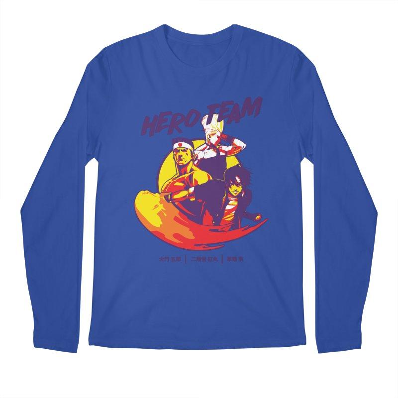 King Of Fighters '94 Japan Team Men's Regular Longsleeve T-Shirt by tulleceria