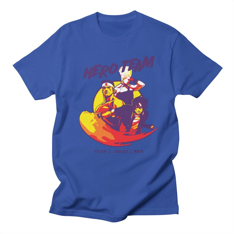 King Of Fighters '94 Japan Team Men's Regular T-Shirt by tulleceria