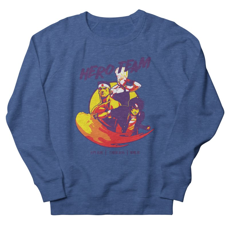 King Of Fighters '94 Japan Team Women's French Terry Sweatshirt by tulleceria