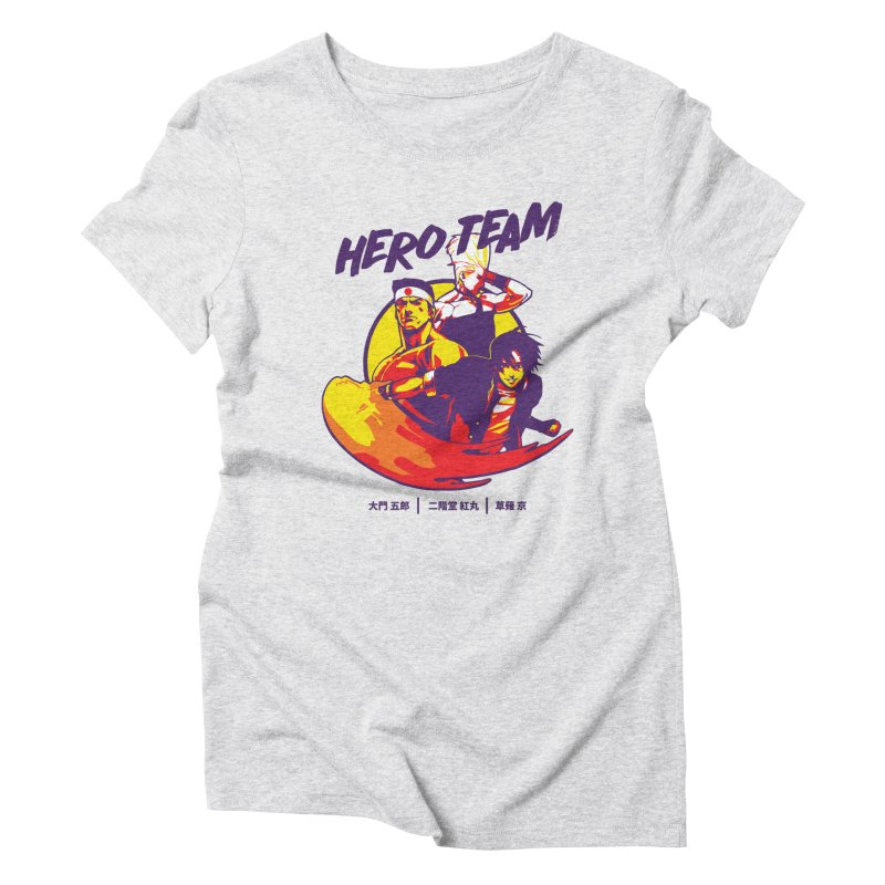 King Of Fighters '94 Japan Team Women's Triblend T-Shirt by tulleceria