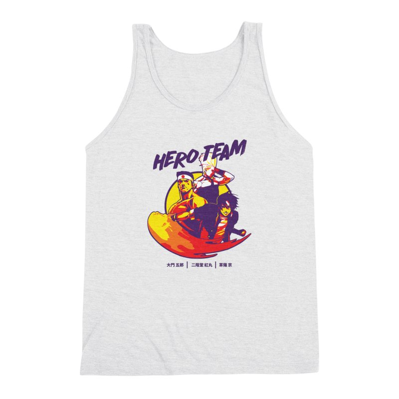 King Of Fighters '94 Japan Team Men's Triblend Tank by tulleceria