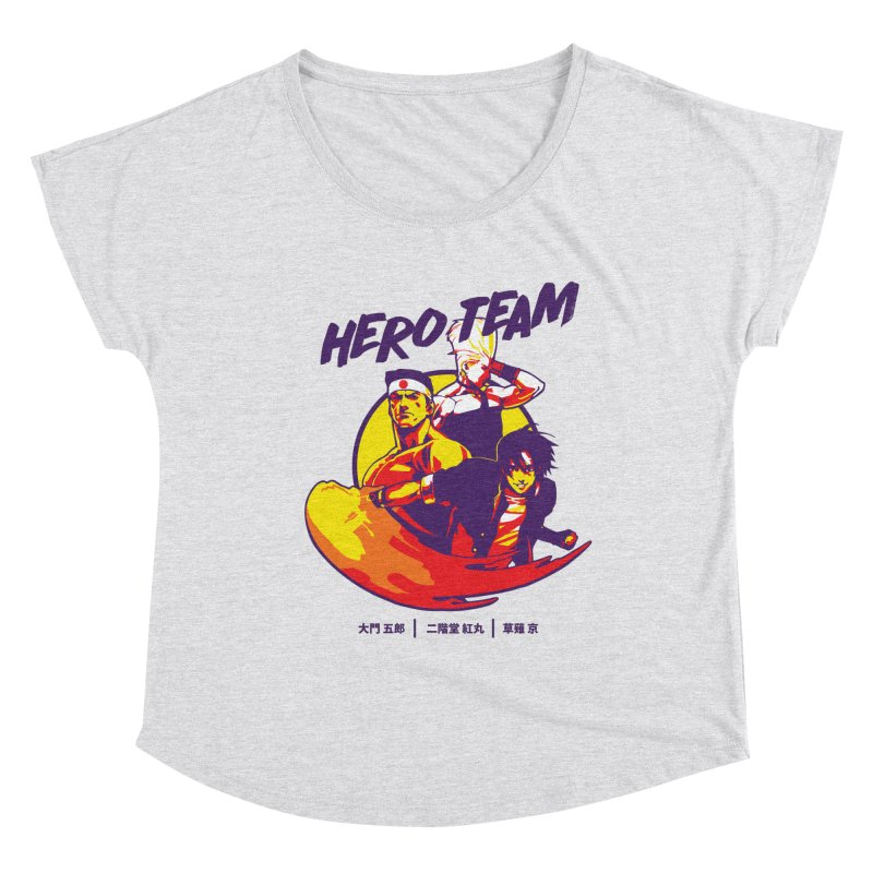 King Of Fighters '94 Japan Team Women's Scoop Neck by tulleceria