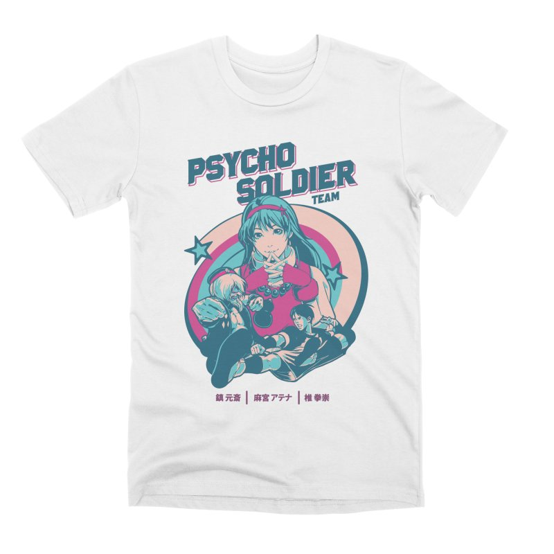 King Of Fighters '94 China Team Men's Premium T-Shirt by tulleceria
