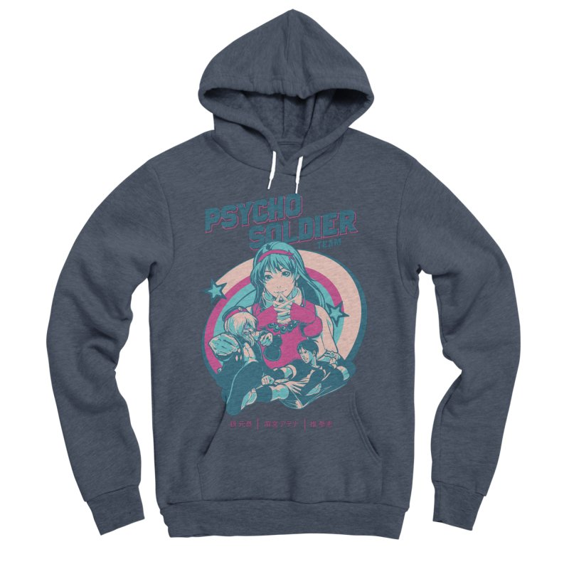 King Of Fighters '94 China Team Women's Sponge Fleece Pullover Hoody by tulleceria