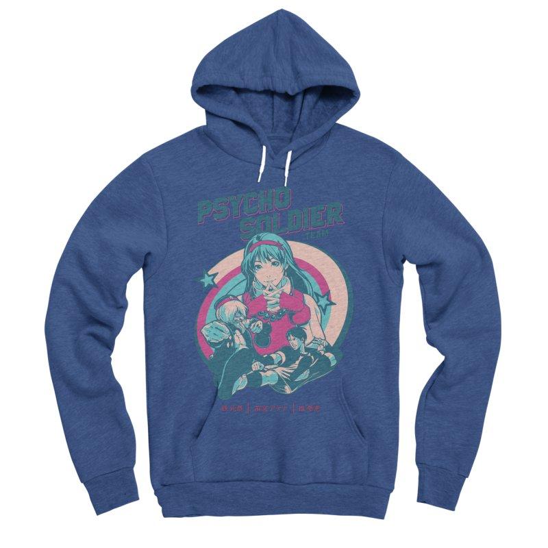 King Of Fighters '94 China Team Men's Sponge Fleece Pullover Hoody by tulleceria