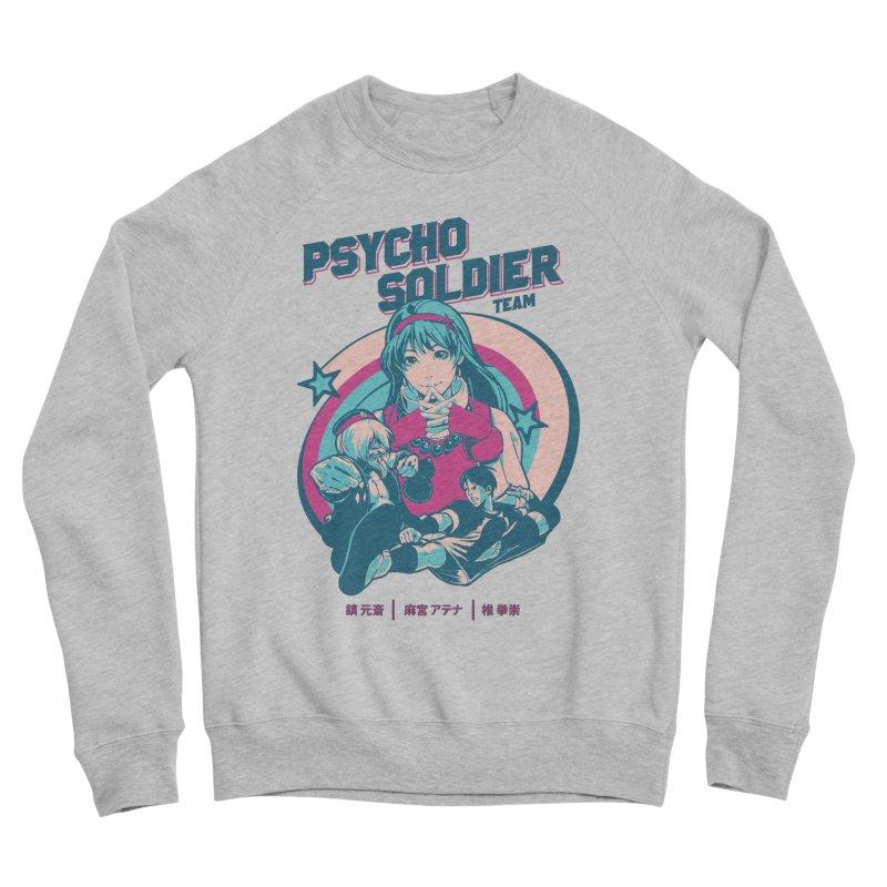 King Of Fighters '94 China Team Men's Sponge Fleece Sweatshirt by tulleceria