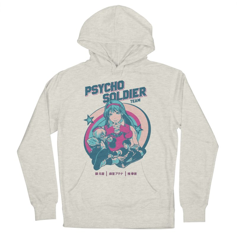 King Of Fighters '94 China Team Women's French Terry Pullover Hoody by tulleceria