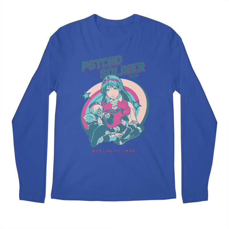 King Of Fighters '94 China Team Men's Regular Longsleeve T-Shirt by tulleceria