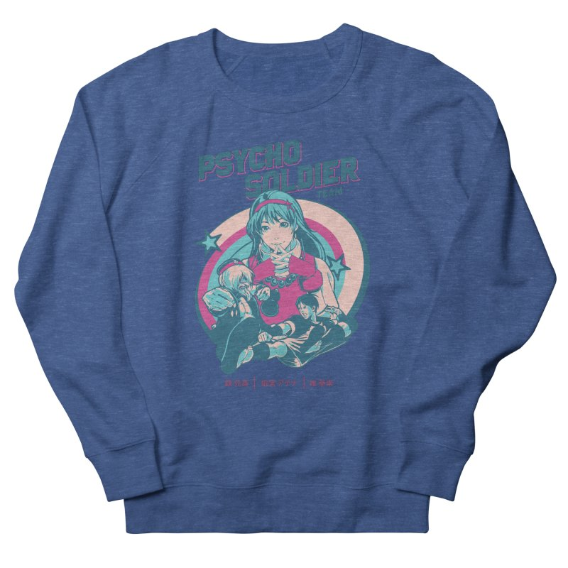 King Of Fighters '94 China Team Men's French Terry Sweatshirt by tulleceria