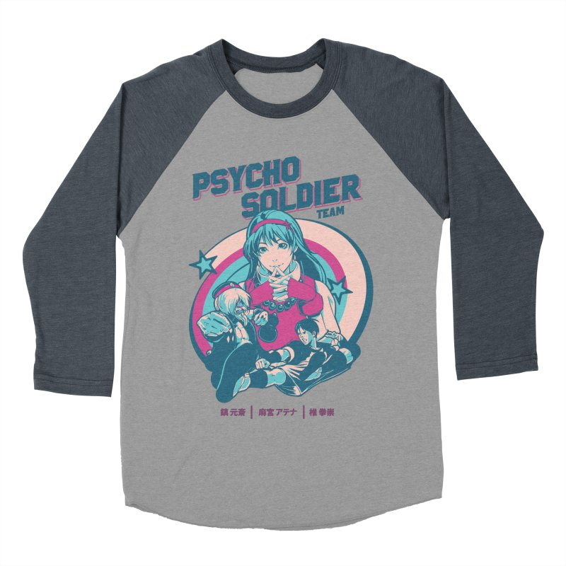 King Of Fighters '94 China Team Women's Baseball Triblend Longsleeve T-Shirt by tulleceria