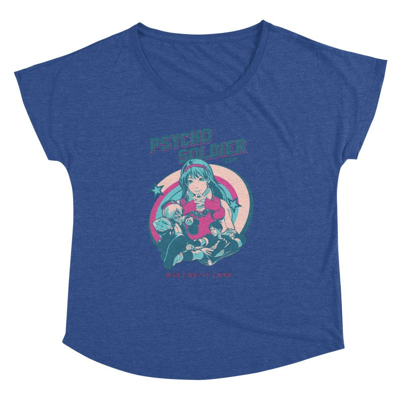 King Of Fighters '94 China Team Women's Dolman Scoop Neck by tulleceria