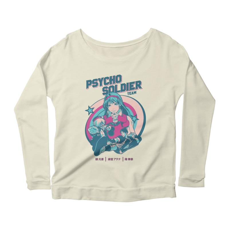 King Of Fighters '94 China Team Women's Scoop Neck Longsleeve T-Shirt by tulleceria