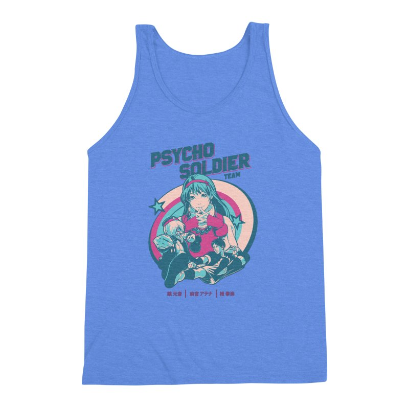 King Of Fighters '94 China Team Men's Triblend Tank by tulleceria