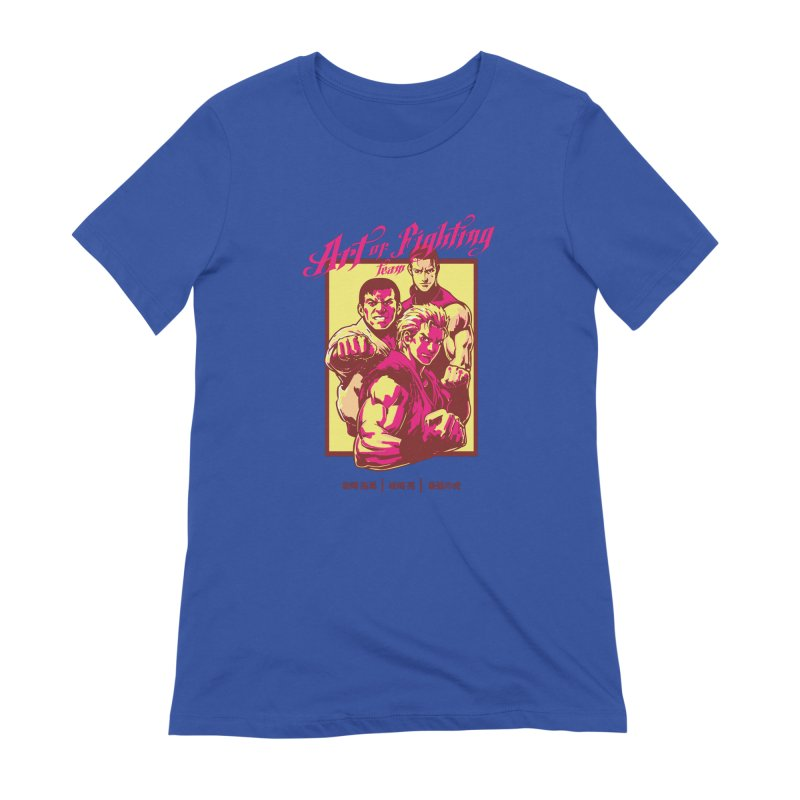 King Of Fighters '94 Mexico Team Women's Extra Soft T-Shirt by tulleceria
