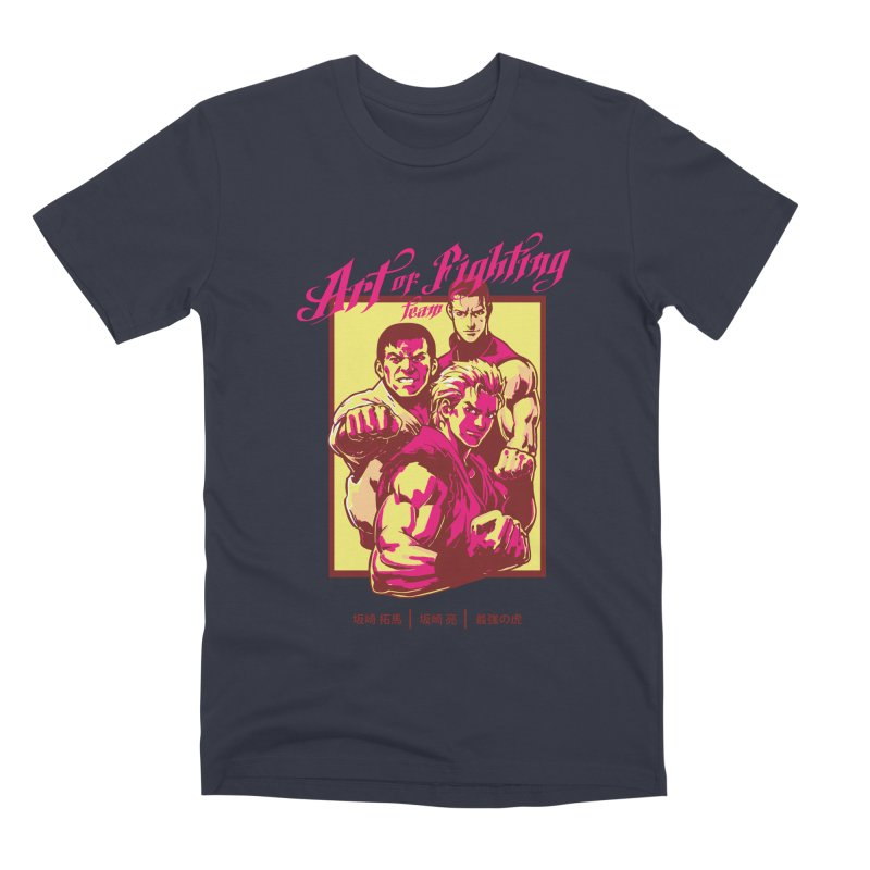King Of Fighters '94 Mexico Team Men's Premium T-Shirt by tulleceria