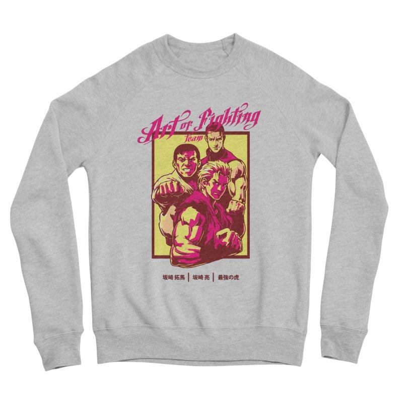 King Of Fighters '94 Mexico Team Men's Sponge Fleece Sweatshirt by tulleceria