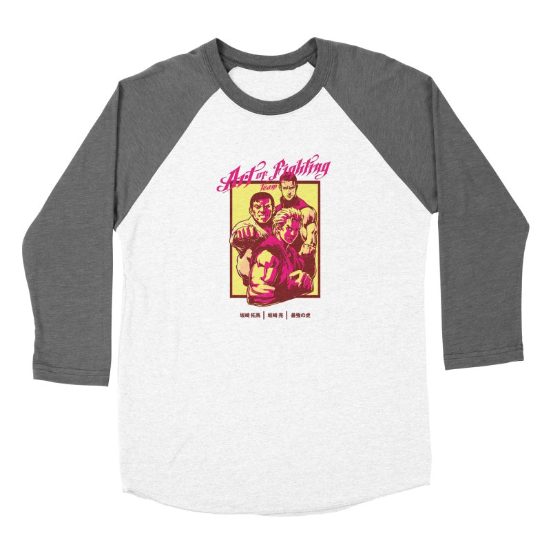 King Of Fighters '94 Mexico Team Women's Longsleeve T-Shirt by tulleceria