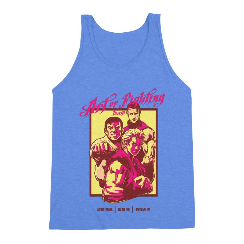King Of Fighters '94 Mexico Team Men's Triblend Tank by tulleceria