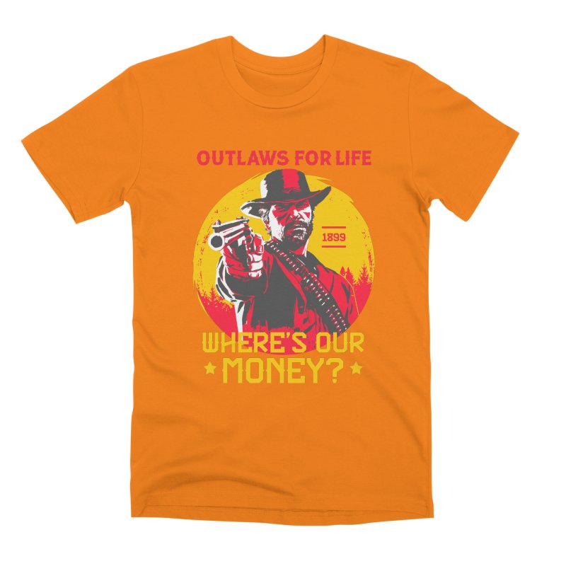 Red Dead Redemption II Men's T-Shirt by tulleceria