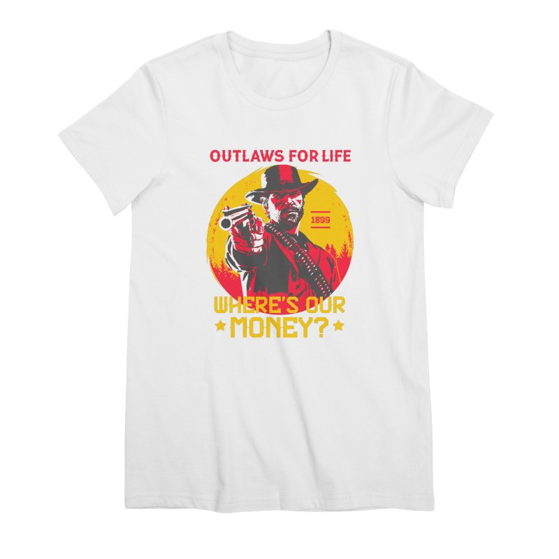 Red Dead Redemption II Women's Premium T-Shirt by tulleceria