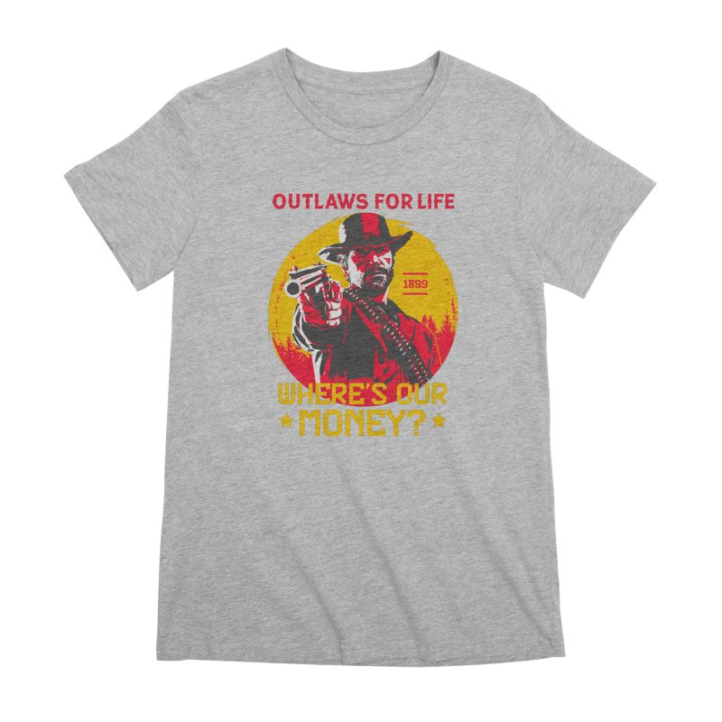 Red Dead Redemption II Women's Premium T-Shirt by tulleceria