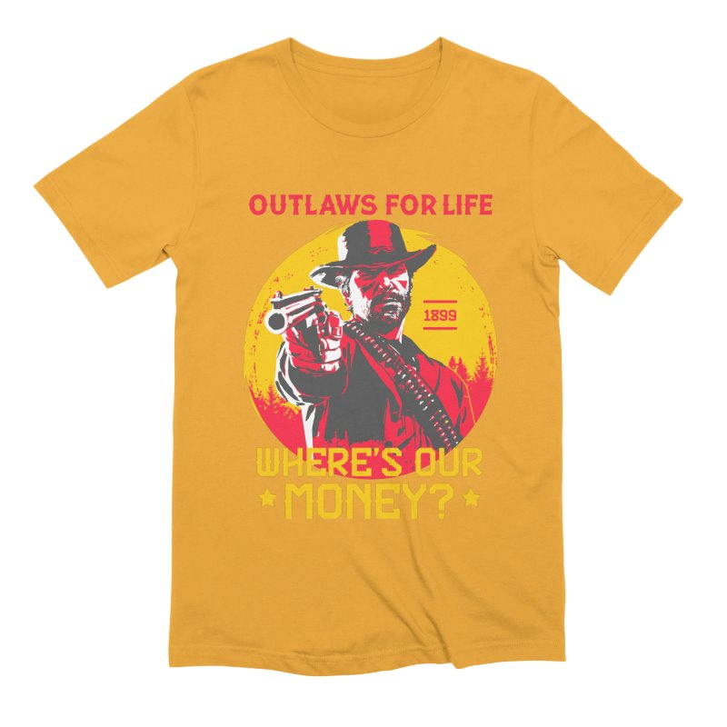 Red Dead Redemption II Men's Extra Soft T-Shirt by tulleceria