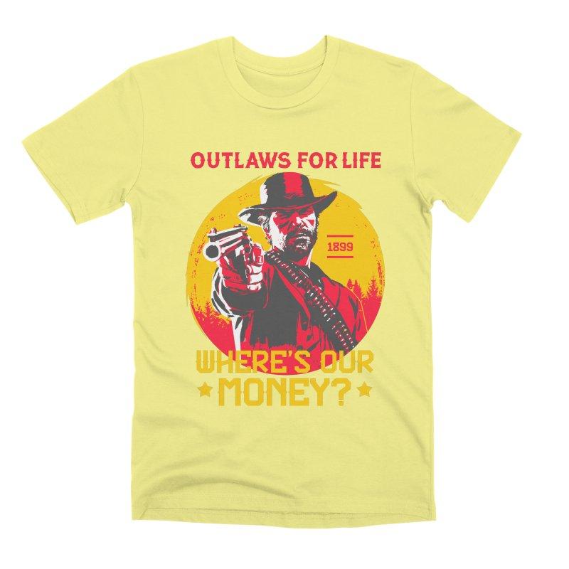 Red Dead Redemption II Men's Premium T-Shirt by tulleceria