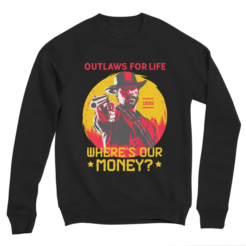 Red Dead Redemption II Men's Sponge Fleece Sweatshirt by tulleceria