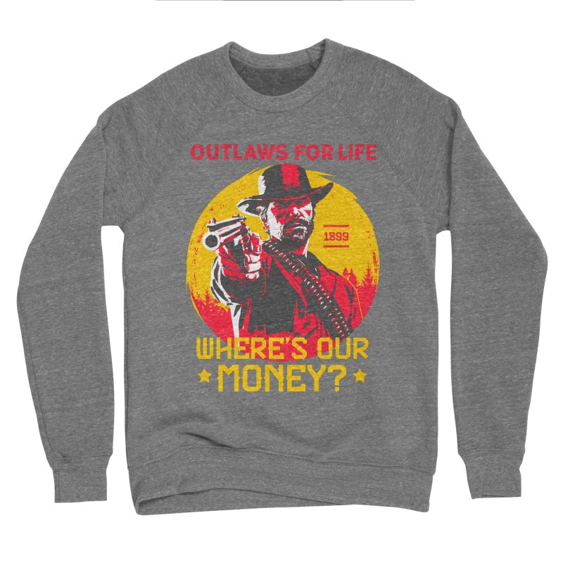 Red Dead Redemption II Women's Sponge Fleece Sweatshirt by tulleceria
