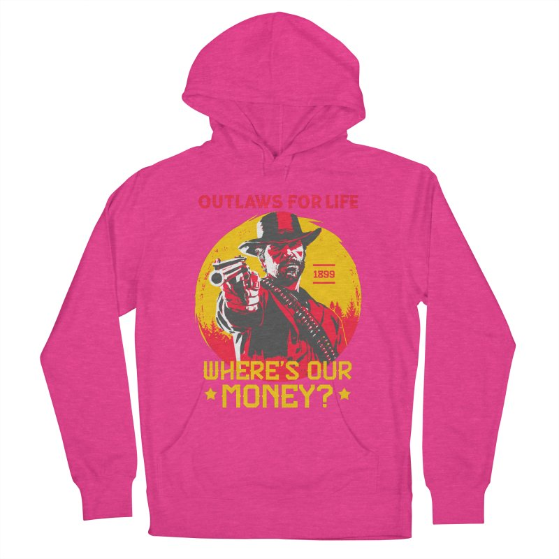 Red Dead Redemption II Men's French Terry Pullover Hoody by tulleceria