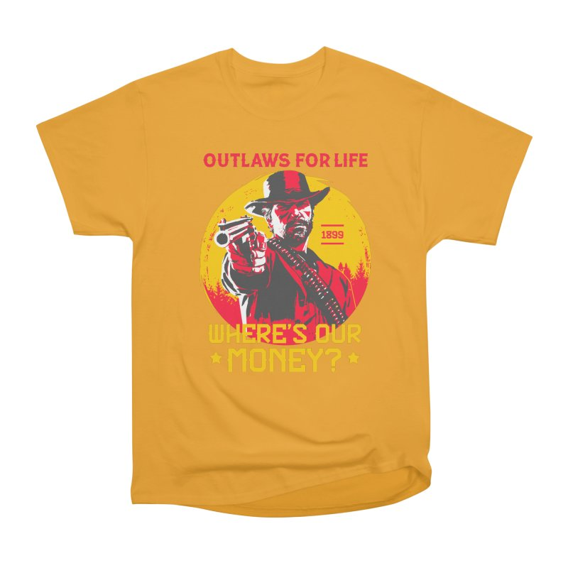 Red Dead Redemption II Men's Heavyweight T-Shirt by tulleceria