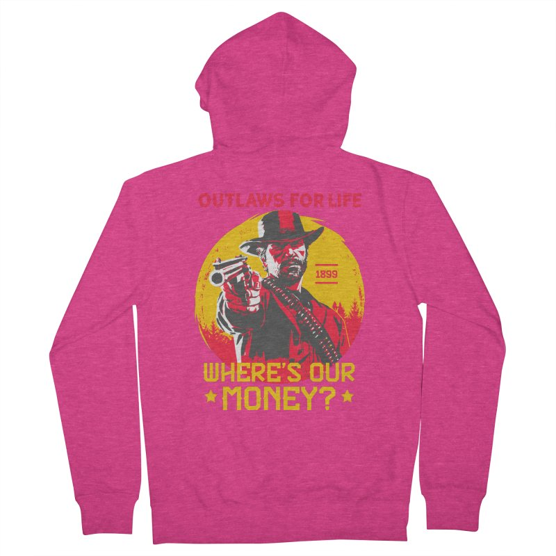 Red Dead Redemption II Women's French Terry Zip-Up Hoody by tulleceria