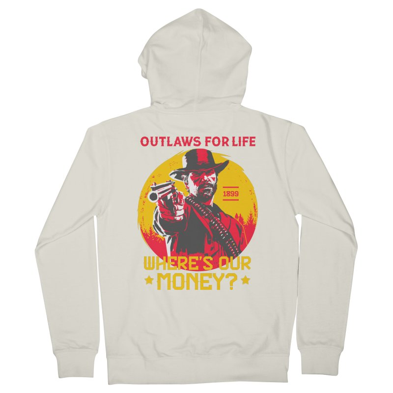Red Dead Redemption II Men's French Terry Zip-Up Hoody by tulleceria
