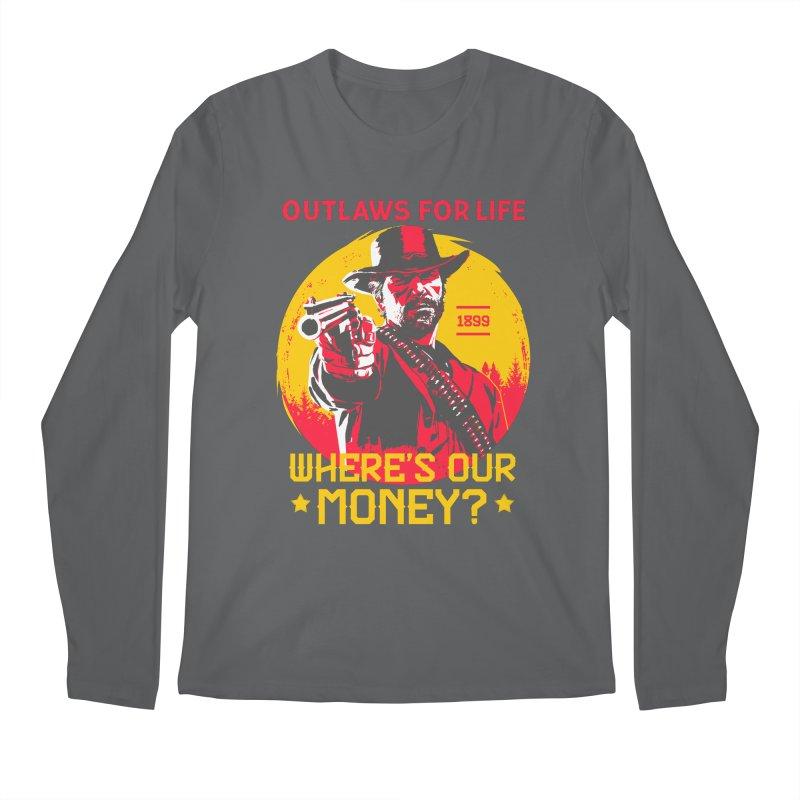 Red Dead Redemption II Men's Regular Longsleeve T-Shirt by tulleceria