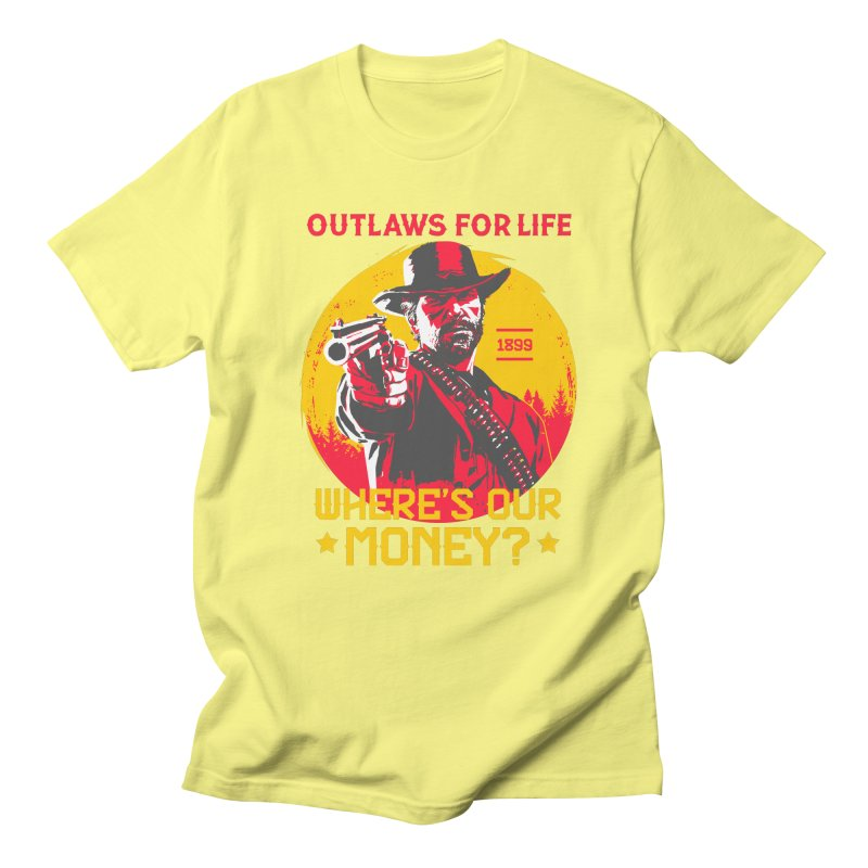 Red Dead Redemption II Women's Regular Unisex T-Shirt by tulleceria