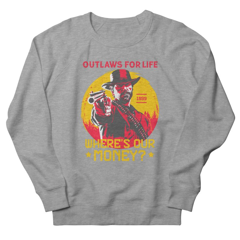 Red Dead Redemption II Men's French Terry Sweatshirt by tulleceria