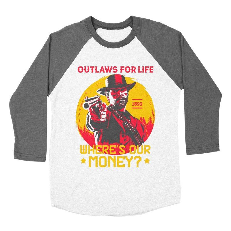 Red Dead Redemption II Men's Baseball Triblend Longsleeve T-Shirt by tulleceria