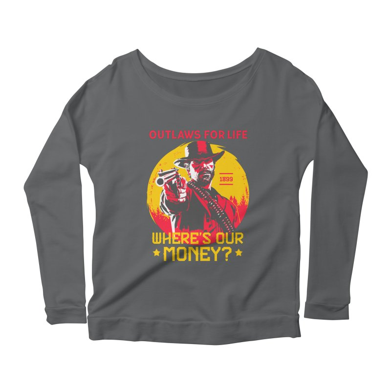 Red Dead Redemption II Women's Scoop Neck Longsleeve T-Shirt by tulleceria