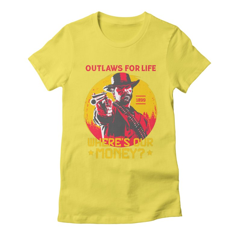 Red Dead Redemption II Women's T-Shirt by tulleceria