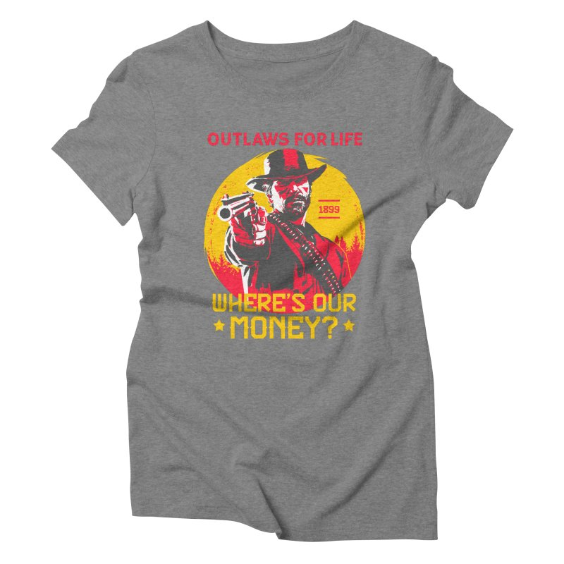 Red Dead Redemption II Women's Triblend T-Shirt by tulleceria