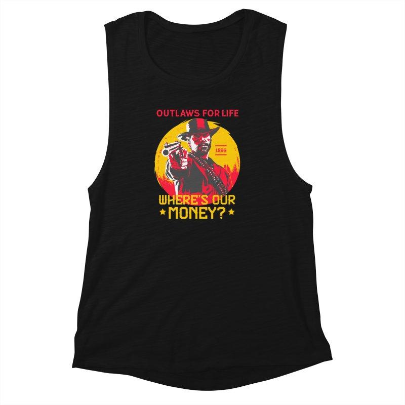 Red Dead Redemption II Women's Muscle Tank by tulleceria