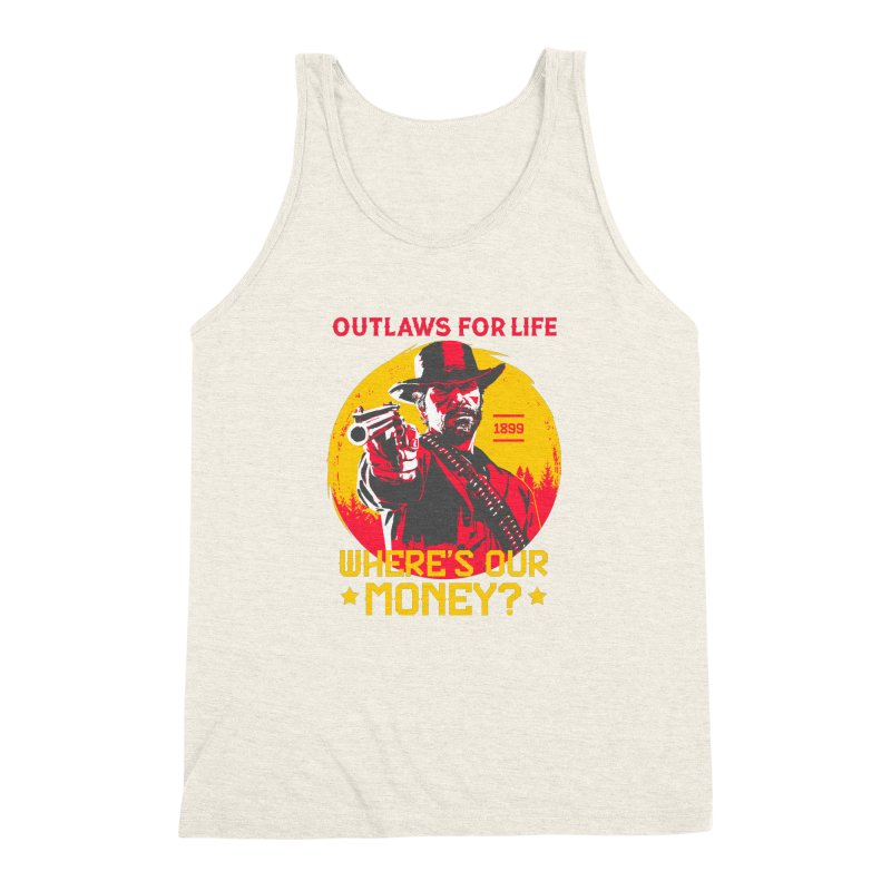 Red Dead Redemption II Men's Triblend Tank by tulleceria
